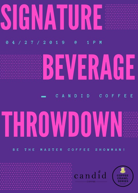 Signature Beverage Throwdown