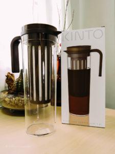 Kinto Plug Ice Coffee Jug Box